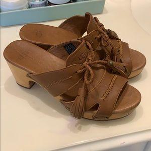 Ugg clog sandals